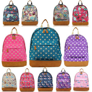 Kids//Teenagers Variety Pattern Designs Backpack//Rucksack SALE Back to School