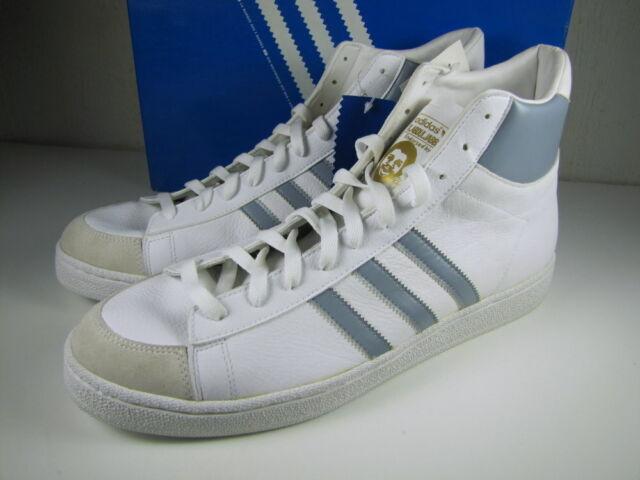 Vtg 2004 ADIDAS Kareem Abdul JABBAR HI 553089 White Gray Men's Shoes Size 14