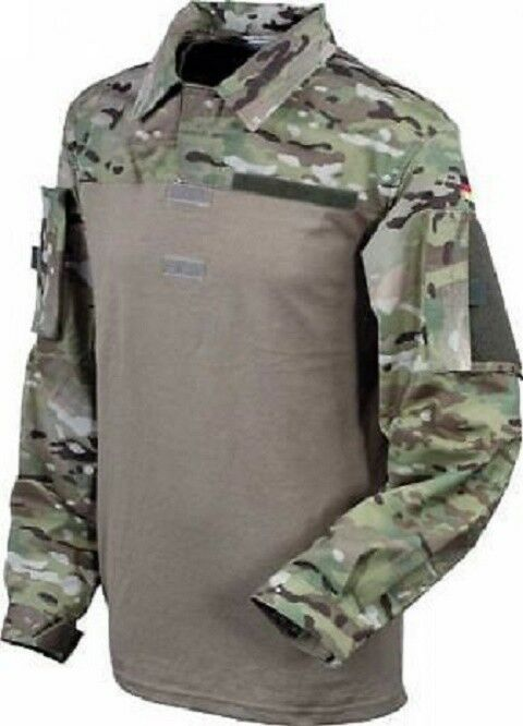 Bundeswehr German Army KSK MULTICAM UBACS Tactical Combat Shirt Shirt Größe 42 44