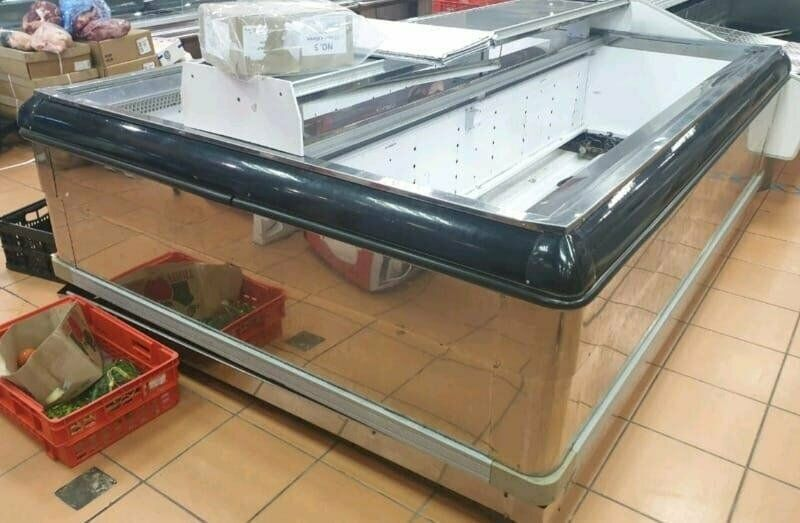 STAINLESS STEEL ISLAND FREEZER AVAILABLE