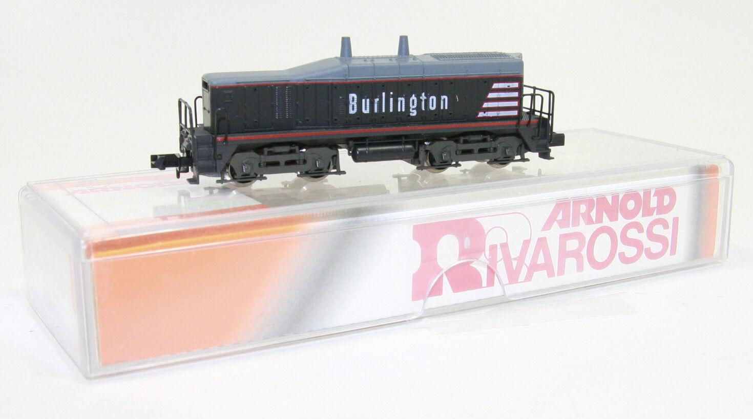 Arnold pista n rareza 5121 us diesel-LOK  Burlington  nero en embalaje original (jl1150)