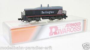 "Arnold Spur N Rarität 5121 US Diesel-Lok "" Burlington "" schwarz in OVP (JL1150)"