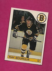 1985-86-OPC-40-BRUINS-RAY-BOURQUE-EX-MT-CARD-INV-8900
