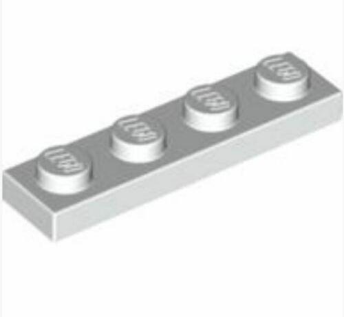 Lego 8x Platte 1x4 Grün Green Plate 3710 Neuware New