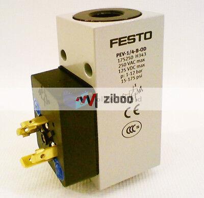 FESTO PEV-1-4-B Pressure Switch Unused 10773