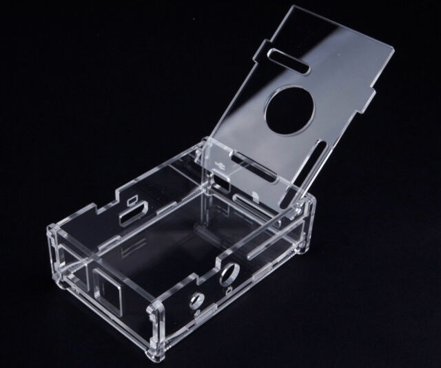 Transparent Clear Acrylic Case Shell Enclosure Computer Box kit for Raspberry Pi