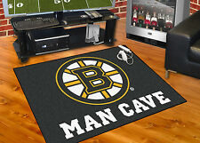 Boston Bruins Man Cave 34 X43 All Star Area Rug Mat