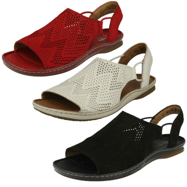 Sandals Casual Sarla Flat Nubuck Black Ladies Clarks on Slip Cadence IpwBcq6X
