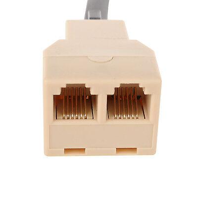 One to Two 6 Pin Mic Speaker Adapter for Yaesu Car Radio Walkie Talkie FT-1807