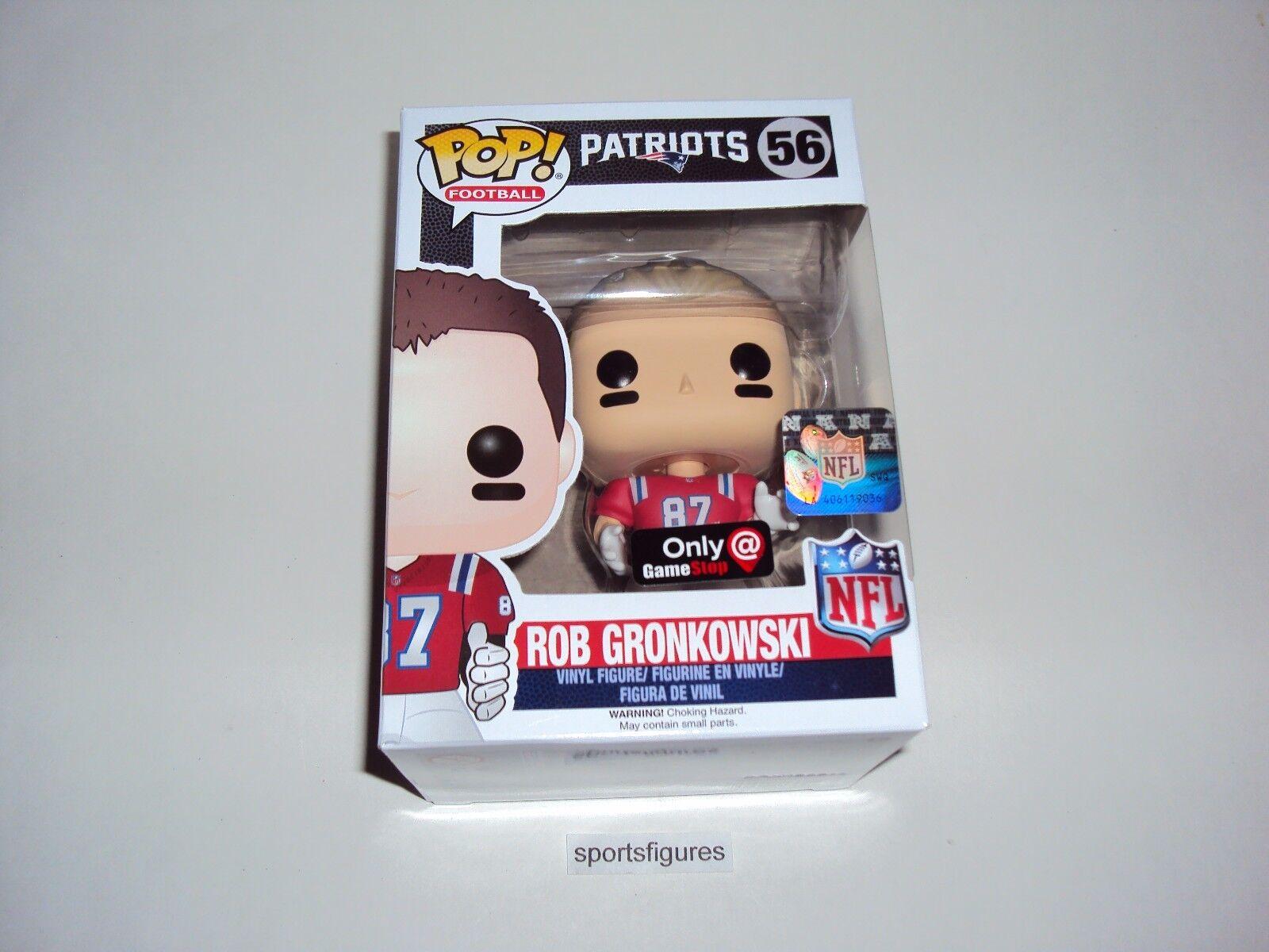 NFL Rob Gronkowski New England Patriots Wave 3 GS Pop exclusives Vinyl Figure