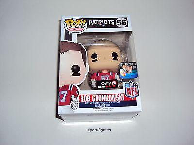 Funko Pop Football #56 Patriots Rob Gronkowski Wave 3 Away Jersey Brand-New