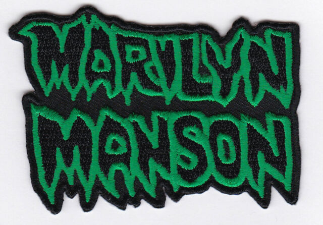 MARILYN MANSON - IRON or SEW-ON PATCH