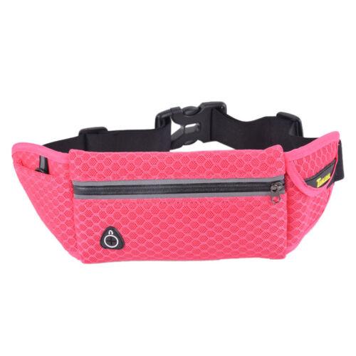 Unisex Waist Belt Waist Bag Running Sports Voyage Pouch Key Mobile bags