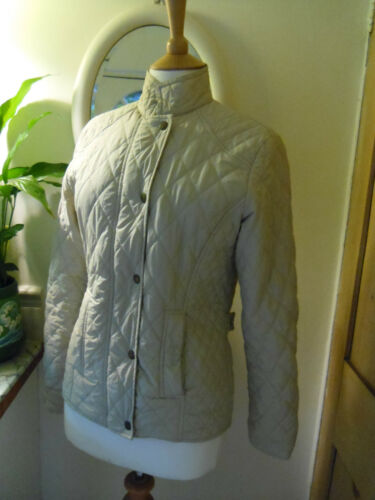 10 Beige Uk Hayden Barbour Sportsquilt Quilted Creamy Jacket Lightweight 8q8Tzwx