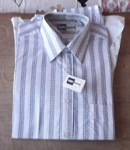 Homme Harry « Morgan » 15 Taille Chemise Marque d7PwRR