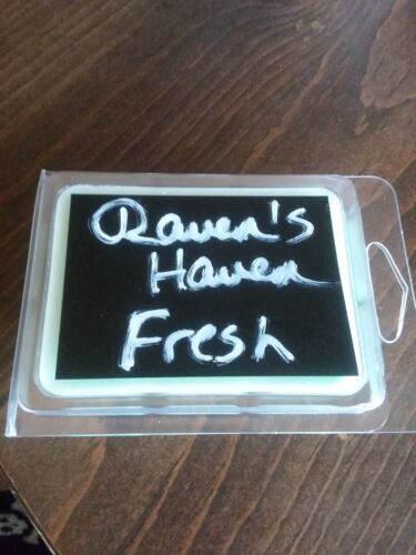 Raven/'s Haven Handmade Pine and Rain Scented Parasoy Wax Melts