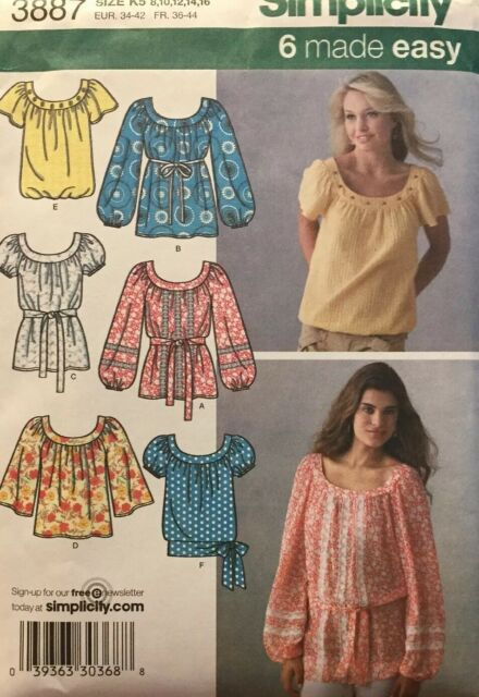 Simplicity 7804 Girls Easy Dresses Sewing Pattern ~ Size 7 8 10