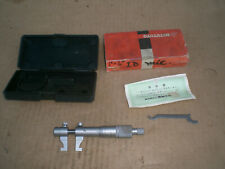 Mitutoyo 1 2 Range Inside Micrometer 145 194 With Case