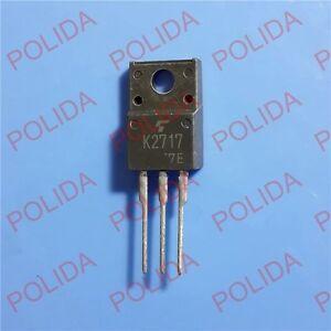 1PCS Transistor TOSHIBA TO-220F 2SK2717 K2717