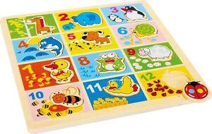 Puzzle-a-incastro-in-legno-034-Animali-dello-zoo-034-cm-25x25