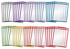Dry Erase Pocket Sleeves Crystal Clea Oversized,Heavy Duty Dry 50 Pack