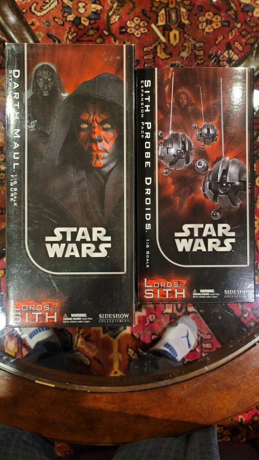 Sideshow Collectibles Star Wars Lords of the Sith Darth Maul 2006 + Probe Droids on eBay thumbnail