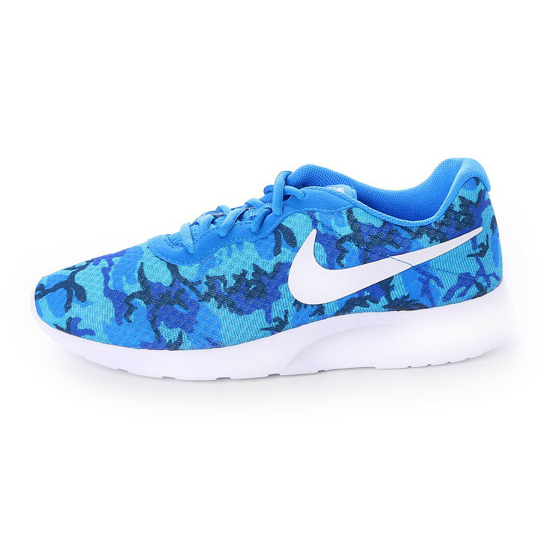 Special limited time NIKE TANJUN PRINT SNEAKERS MEN SHOES PHOTO BLUE 819893-414 SIZE 11 NEW