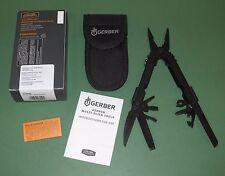 US Military Issue Gerber MP600 Multitool Needlenose Pliers Black Oxide 07550N