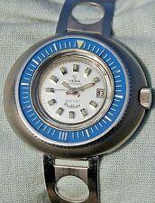 RARISSIMO Orologio YEMA AUTOMATIC anni '70 cassa tipo Philip Watch sub 660 feet