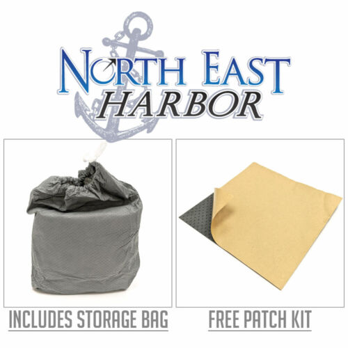 """Square Fire Pit Winter Cover Waterproof 50/"""" Grey High-Strength Outdoor Protector"""