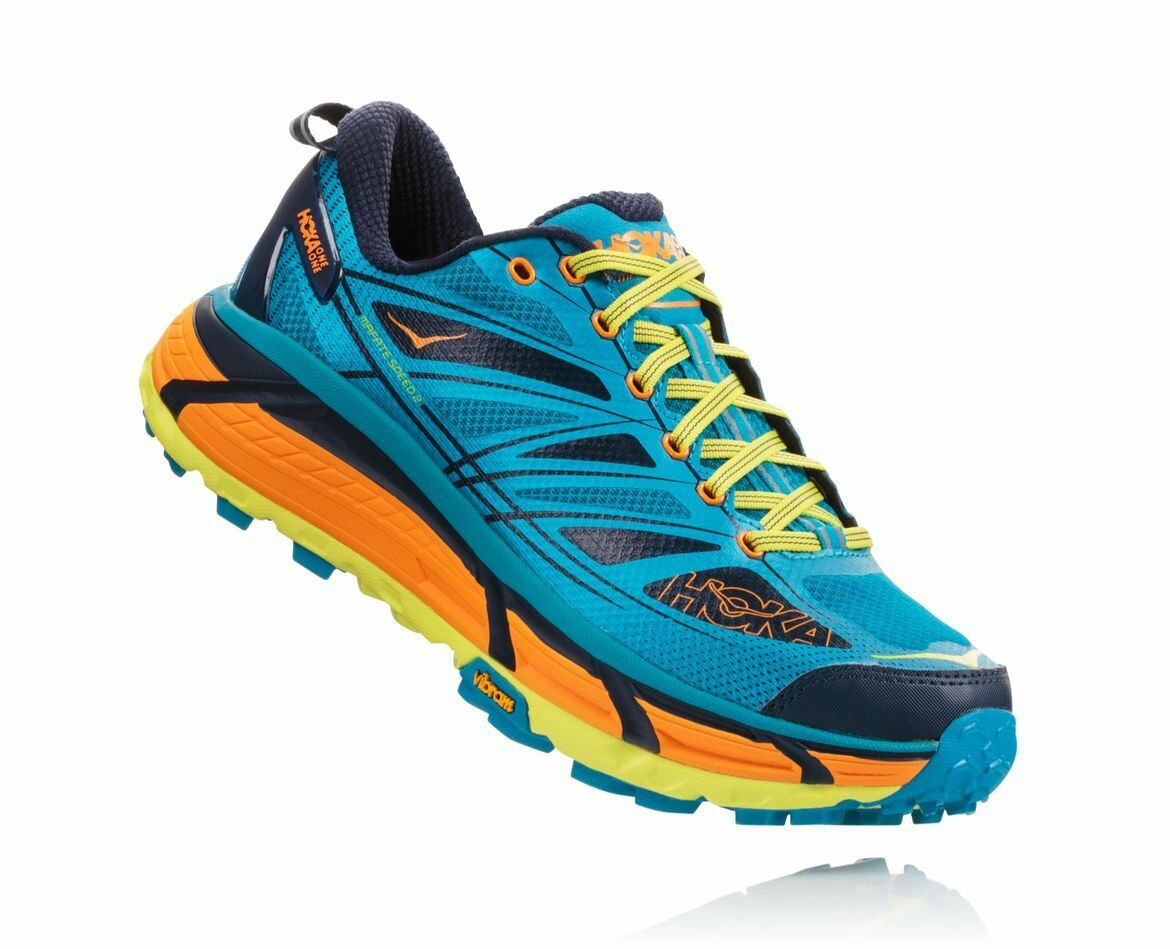 shoes  Trail Running Montagna HOKA ONE ONE MAFATE SPEED 2 Carribean sea Autunn  after-sale protection