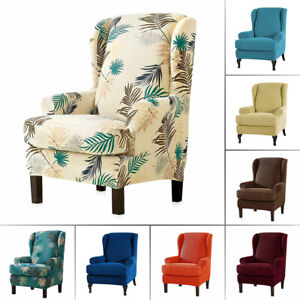 Prime Details About Stretch Fit Furniture Protector Wingback Slipcover Wing Chair Covers Recliner Pdpeps Interior Chair Design Pdpepsorg