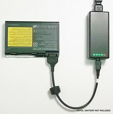 External Laptop Battery Charger for ACER TravelMate 290 2350 4050 4650, BATCL50L