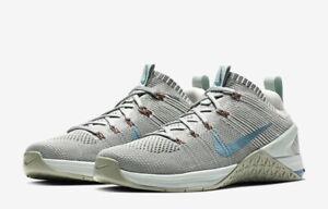 Detalles de Nuevas zapatillas Nike lunarepic Flyknit Plata Negro Mujer Hombre Correr Gimnasio Reino Unido 5 ver título original