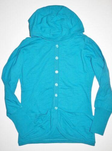Burton Womens Spirit Premium Button Up Knit Fashion Hooded Cardigan Small