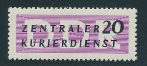 DDR-Dienst-1956-Mi-7-X-II-seltener-Spitzenwert-Tadellos-Mi-180