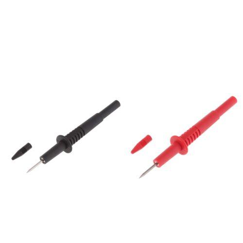 Multimeter Messleitung Testsonde mit 2mm 2 x Abnehmbare Testfüher