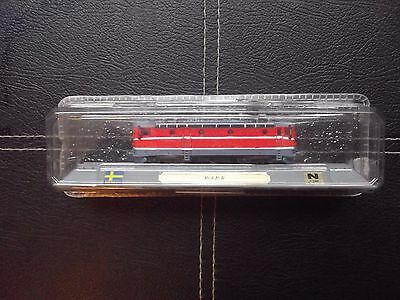 Amichevole Del Prado N Gauge Boxed Model Train - Rc4 B-b. Sweden.