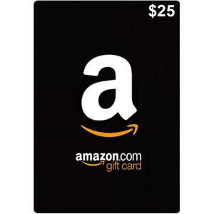 Amazon Card Us 25 Dollar Amazon Gift Card 25 Usd Code Free Fast Shipping Ebay