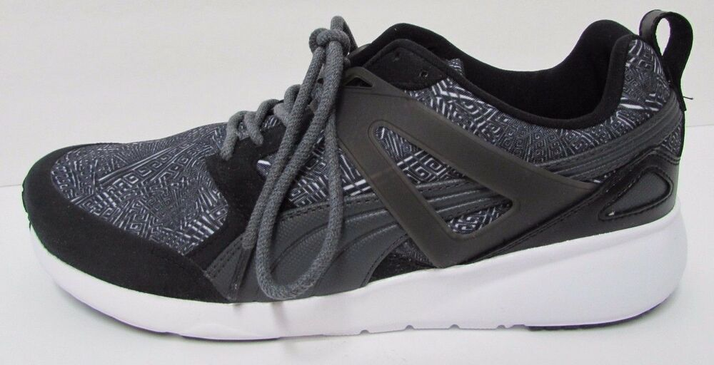 Puma Taille 12 noir fonctionnement Sneakers New homme chaussures