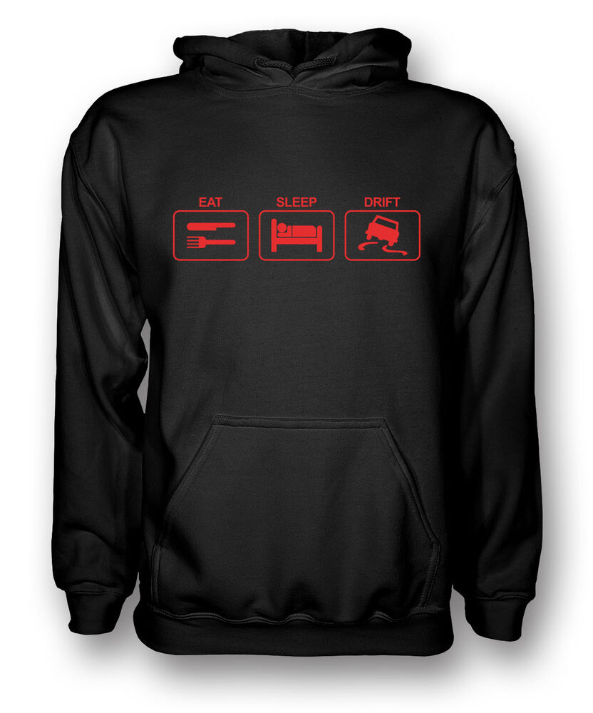 à Condition De Eat Sleep Drift-driving-kids Hoodie Excellente Qualité