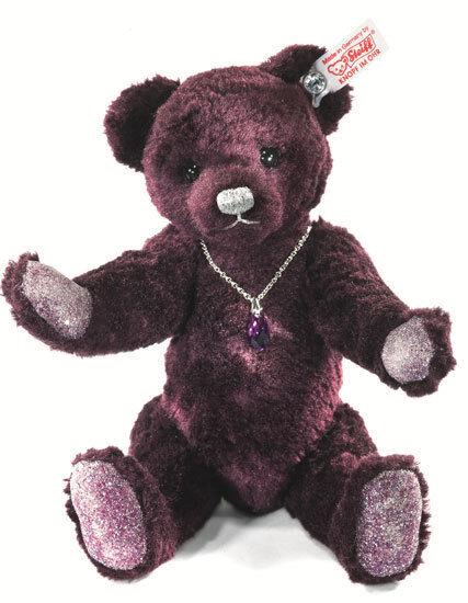 Amethyst Teddy Bear by Steiff - EAN 035159