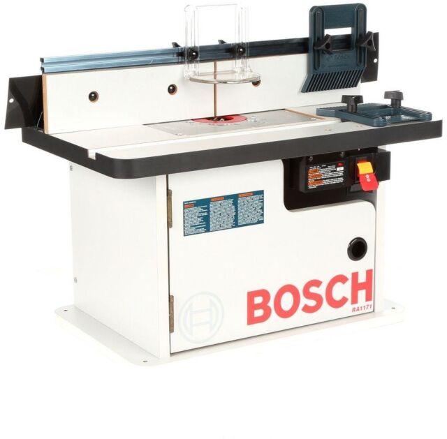 Bosch cabinet style router table ra1171 ebay bosch cabinet style router table ra1171 greentooth Choice Image