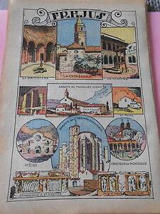Fréjus Baptistère Montrieux Hyères Thoronet dessin Print 1936 GchRjS3B-09161726-105445808