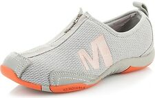 Womens Sz 11 MERRELL Tamba Breeze Ash Gray Coral Athletic Casual Shoes J198195C