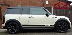Bmw Mini Cooper Clubman R55 Side Stripes Set Genuine 3m Oe