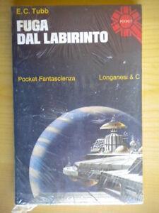 Fuga dal labirintoTubb Longanesipocket fantascienza520romanzo libro Nuovo