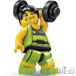 Lego-Minifigure-8684-Series-2-Weight-Lifter-Brand-New-Not-Sealed-NEW