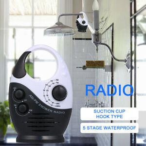 AM-FM-Duschradio-Musik-Radio-Bad-Wasserdicht-Haengender-Einbaulautsprecher