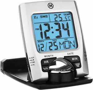 Marathon-CL030023-Travel-Alarm-Clock-with-Calendar-Temperature-Battery-Inclu